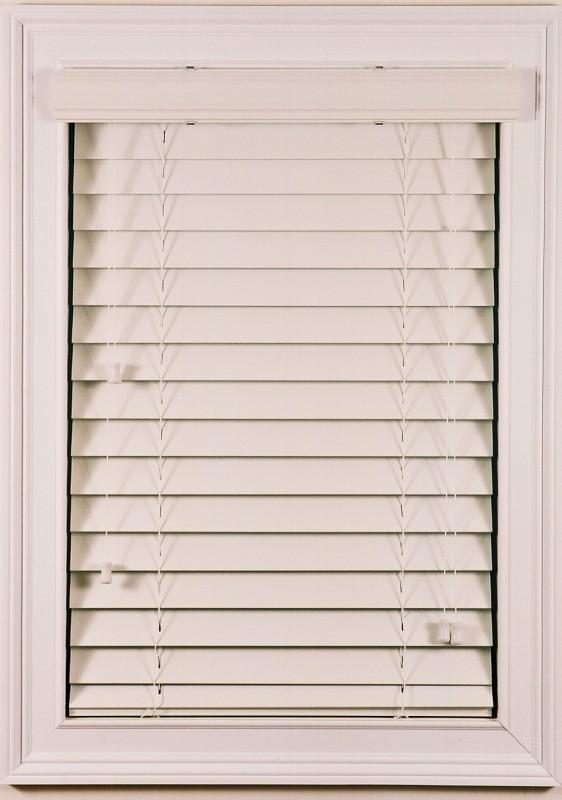 Rèm nhựa giả gỗ PVC-01 mầu kem
